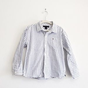 Tommy Hilfiger Toddler Plaid Button Up, 4 Years